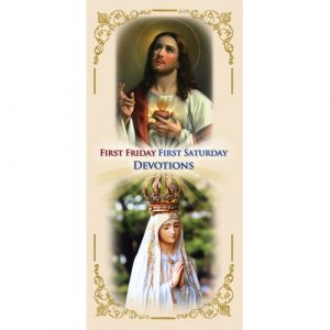 First Friday, First Saturday Devotions