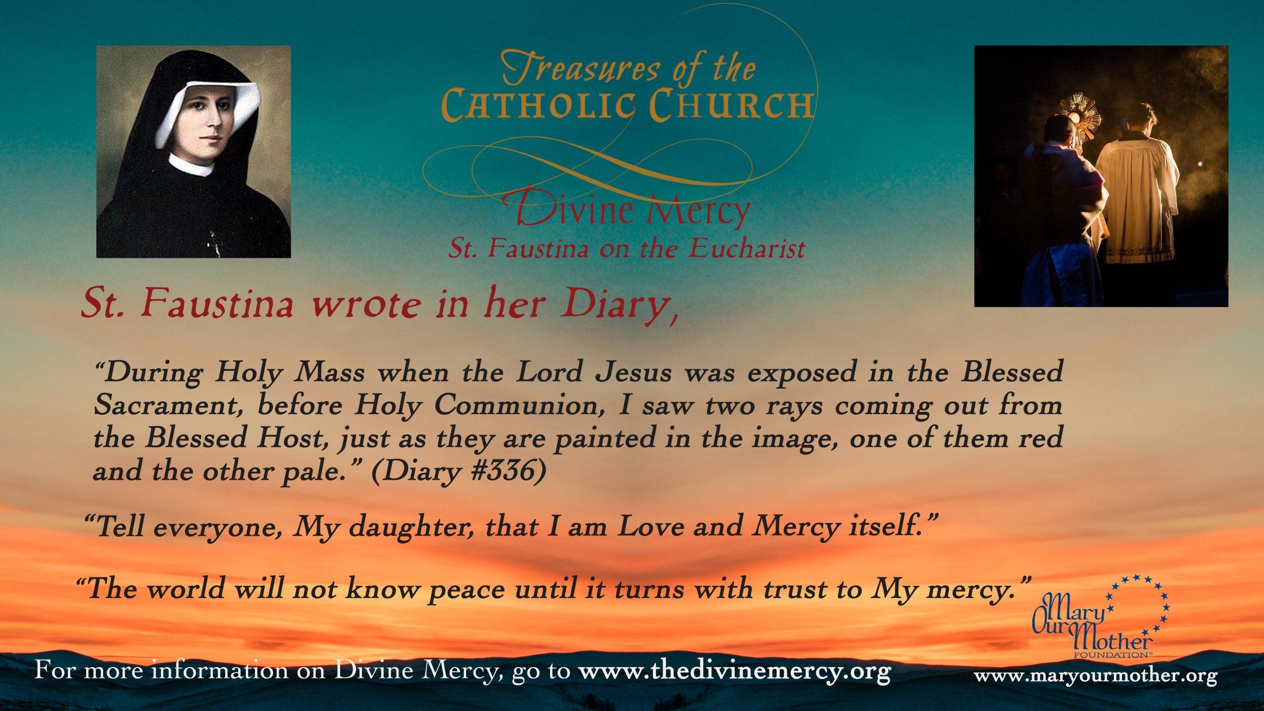 Divine Mercy Eucharist MONITOR Flyer