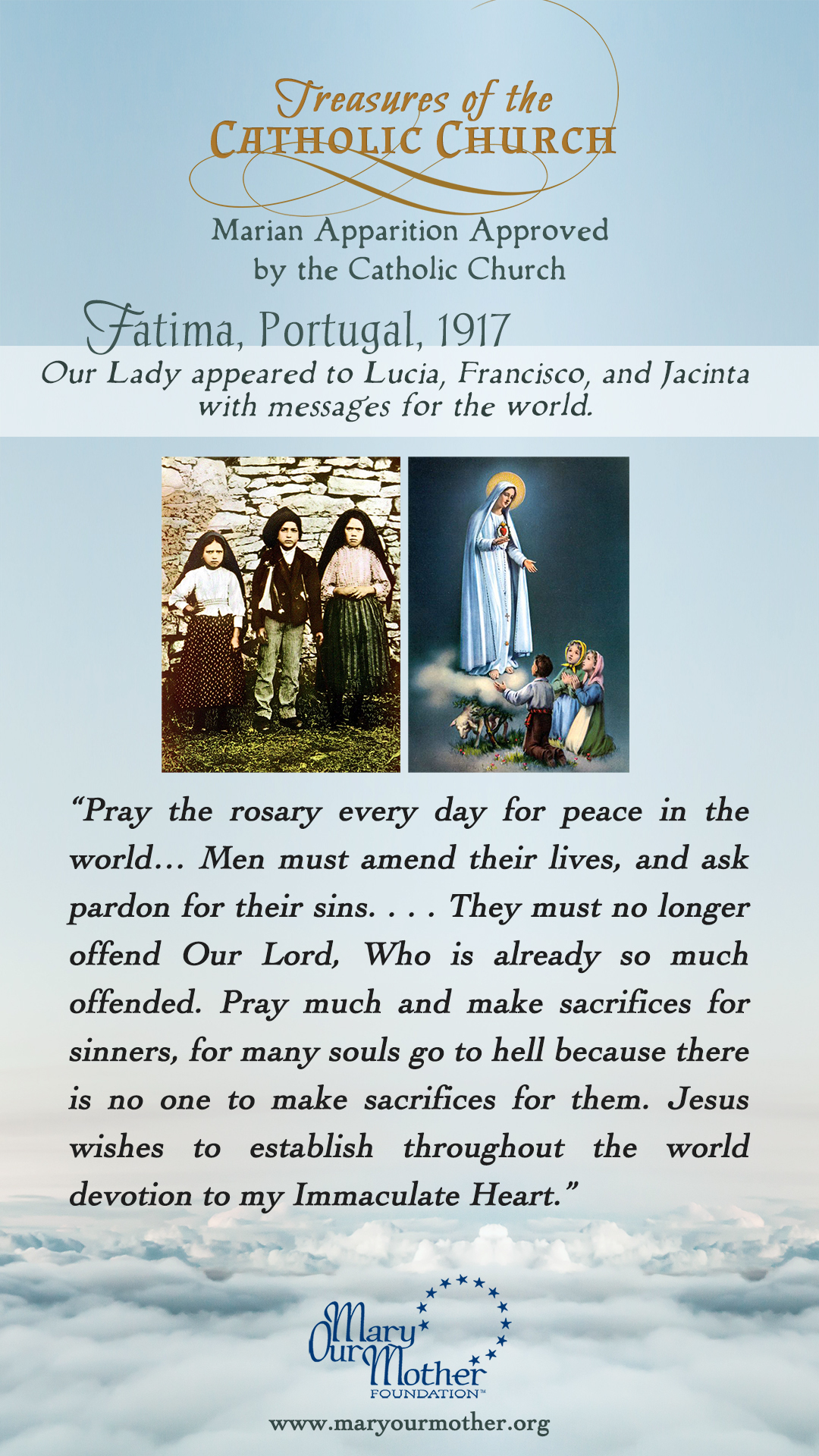 Fatima PHONE Flyer