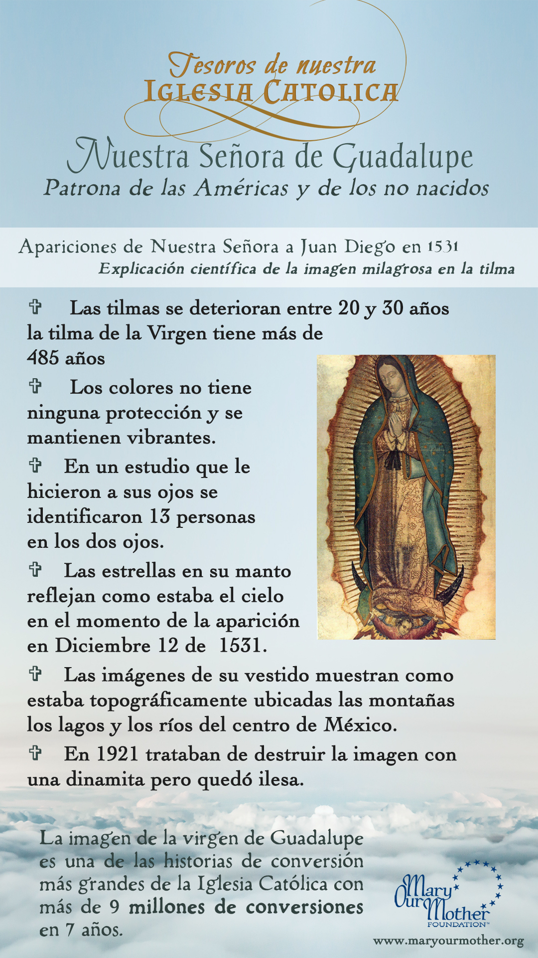 Guadalupe Spanish PHONE Flyer