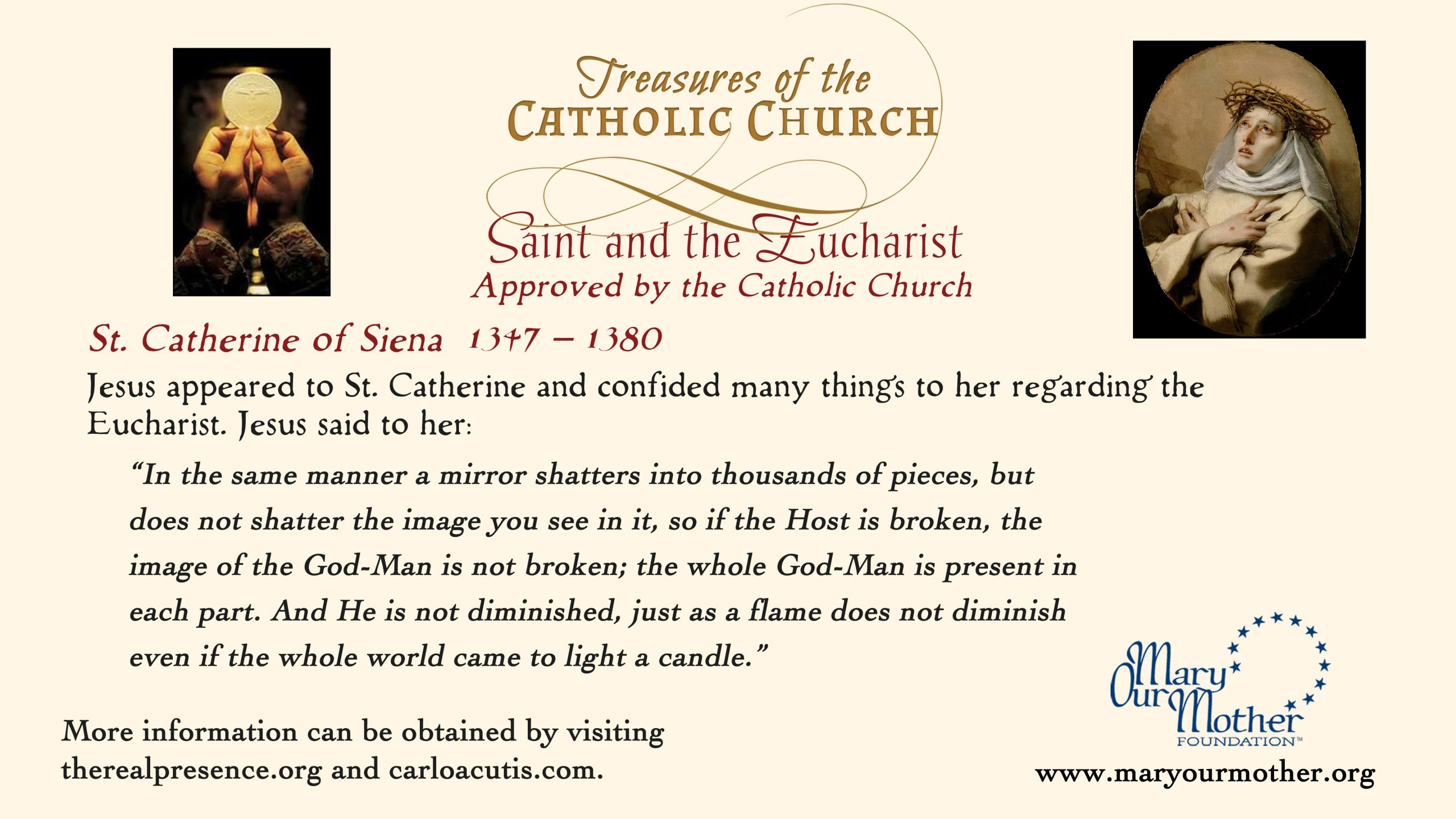 St Catherine MONITOR Flyer